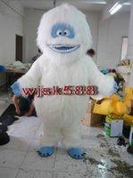 abominable snowman - Yeti Abominable Snowman Mascot Costume