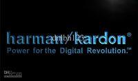 advertising audio - LL061 TM Harman Kardon Speakers Audio Neon Light Sign Advertising led panel Wholes