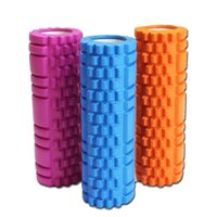 abs iso - ISO Solid Fitness Trigger Point Therapy Roller Self Massage Yoga Gym Physio Injury Foam Roller High Quality Density EVA ABS PVC cm cm