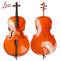 Wholesale TONGLING Hand Made Oil Varnish Cello High Quality Antique Style Cello