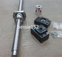 ball screw pitch - 1 ballscrew RM2005 L1050mm C7 ball screw mm Diameter with mm pitch set BK15 BF15 bearing mounts mm coupler coupling
