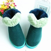army style boots - New Winter Snow Women Boots Decoration Warm Styles Button Boot Christmas Ladies Short Shoes Chestnut Sand Grey Black Sale
