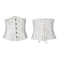 Wholesale Hot Sexy Lingerie Printed Material Underbust Corset Bustier S L In Stock Good Quality