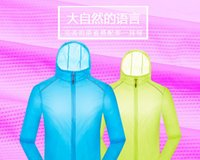 Wholesale Couples Male amp Female Summer Outdoor Climbing Outdoor Shirts Women amp Men Quick Dry Fishing Anti UV Hiking Shirts XS XL