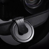 Wholesale RTRIVR Black Clip Lens Cap Clip Holder For Narrow Straps lens cap holder cap phillies cap brand