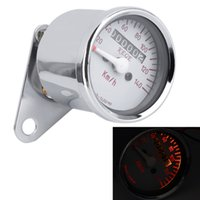 Wholesale Universal Motorcycle in LED Odometer Speedometer Tachometer Motor