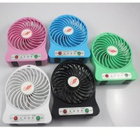 battery powered personal fan - Mini Electrical Portable Fan Personal Rechargeable Power USB Strong Wind Fan with Retail Package