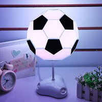 abs football - USB And Battery Night Light ABS PVC Night Lamps DIY Football Desk Table Light for football lovers