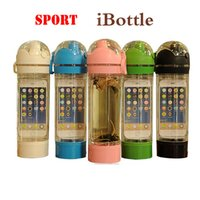 Wholesale Tinyinthebox TM iBottle Running Outdoor Bicycle Hiking Sports Shaker Hiking Water Bottle