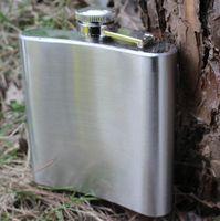 Wholesale Liquor Wine Alcohol Cap oz ml Stainless Steel Hip Flask Pocket Bottle for Whiskey
