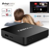 Wholesale T95N Pro TV Box Android GB GB S905X Quad Core Kodi Fully Loaded Wifi Remote Control