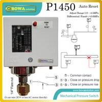 Wholesale 1 MPa auto reset pressure controls with fixed differential installed in R410a heat pump replace Parker controls