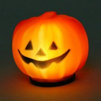 Wholesale Carnival Party Lantern LED Pumpkin Night Light Halloween Decoration Props Produce Scary Atmosphere