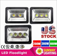 ac shipping - US stock fast ship W W W led Floodlight Outdoor LED Flood light lamp waterproof LED Tunnel light lamp street lapms AC V