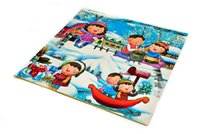 Wholesale EVA Cartoon Puzzle Mats For Baby Play Snow Anti Fatigue Waterproof Baby Crawling Pads Area Rugs Interlocking Foam Floor Mats