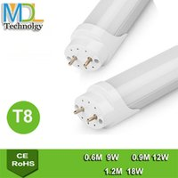 Wholesale LED T8 tube w w w mm mm mm led Fluorescent Tube Lamps AC90v v SMD LED Lamp Led Lighting Tube T8