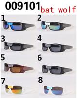 bats sale - 2017 hot sale summer men driving sun glasses Sports Eyewear women s goggle bat wolf Bicycle Glass Travel glasses A colors free ship