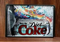 art cola - This kind of cola do you like Creative tin posters cm decorative sheet metal painting decorative crafts and gifts