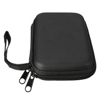 Wholesale 2015 High Quality Black Portable Zipper External HDD Bag Case Pouch For Protection For GPS Hard Disk Drive