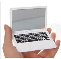 Wholesale Mini mac makeup mirror for mirror Apple notebook macbook air apple computer portable Creative mirror