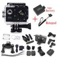 Wholesale SJ7000 quot LCD WIFI Full HD SD P Helmet DV Sports Action Video Mini Camera