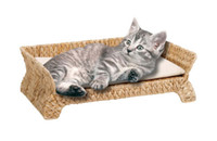 Wholesale natural banana leaf cat scratching tree cat tree cat toy pet product cat house sofa