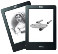 Wholesale Original Ebook Kobo Reader inch e ink Infrared touch screen e book not glo WIFI ereader ink books ink invisible