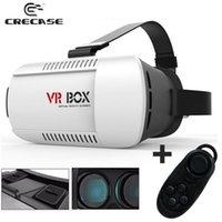 Wholesale 20PCS Google Cardboard Original xiaozhai Brand VR BOX Virtual Reality Oculus rift D Glasses for Phone Bluetooth Controller