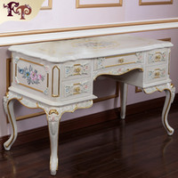 antique french provincial tables - French provincial furniture Luxury European royalty classic bedroom furniture set Luxury European style dressing table and mirror