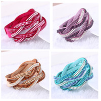 Cheap Fashion Leather Bracelets with kids Slake Bracelet for girls Leather Bracelets