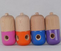 Wholesale 1Pcs wood kendama pill toy ball Easter gifts eggs Kendamas