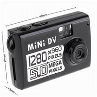 Acheter La vidéo numérique-plus petit appareil photo 5.0MP COMS Mini enregistreur vidéo numérique AVI 1280 * 960 résolution PC boucle Webcam vidéo de détection de mouvement Mini DV mondiale