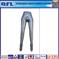 Wholesale CusCustom Inflatable Mannequin Male Mannequin Leg Plastic Male Mannequin leg