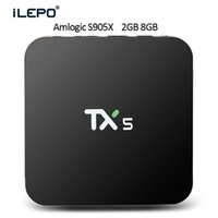 beat media - Tanix S905x Quad core Android TV BOX K TX5 KODI FULL LOAD GB DDR3 GB EMMC Amlogic Streaming Media Player Beat M8S T95 T95N