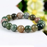 beaded jewelry india - Brazil India natural agate chalcedony Bracelet lucky stone and jewelry Vanves one generation