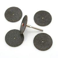 Wholesale 5pcs Circular Sanding Grinding Disc Round Cutting Sawing Blade for Grinder Cutting Metal Sheet Organic Glass Stones Plastic Wood