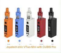 best upgrades - Joyetech Original eVic VTWO mini with Cubis Pro tank full kit the best starter kit eVic Mini upgraded version Joyetech