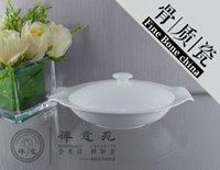 dinner sets fine china - 9 quot Boat Stew Bowl with Cover fine bone china ceramic dinner bowl tableware set hotel supplies home decoration Kitchen supplies Tableware