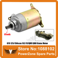 atv motor parts - GY6 ccm QMI QMJ Engine Electric Stater Motor Fit Scooter Motorcycles ATV Go Cart Spare Parts