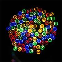 Wholesale Addlon Solar String Lights ft m LED Christmas Lights For Outdoor