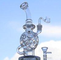 ball bases - 2016 new oil rig glass bong Oil Rigs Glass Design torus fab egg life ball rig heavy bases water pipe ST K