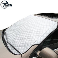 Wholesale YIKA Car Window Sunshade Car Snow Covers For SUV And Ordinary Car Sun Shade Reflective Foil Car Windshield Snow Blocked Anti UV