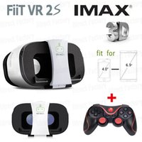 Wholesale NEW FIIT VR S Virtual Reality D Glasses google cardboard vr box vr park oculos wireless bluetooth game controller gamepad
