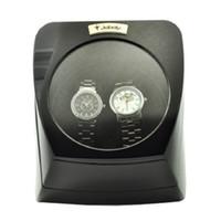automatic watch winder case - Jebely Dual Watch Winder Diplomat Case Box Storage Timer Black Dual Automatic JA075 Black