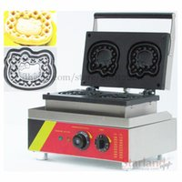Wholesale Commercial lolly waffle hot dog machine stainless steel with waffle moulds