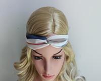 Wholesale 2016 hot sale korean new cross Chiffon Bohemian women headband knot headwrap turban headbands hair accessories