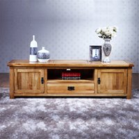 antique console table - 100 Pure Solid wood TV Stand Oak TV Stand Media Console Table Soild Wood TV Storage Cabinet Unit