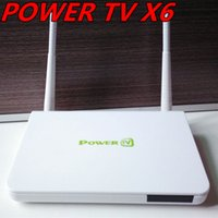 best televisions - Genuine PowerTV X6 New best lifelong permanent free IPTV channels IPTV set top boxes of Arabic Android live television channels TV