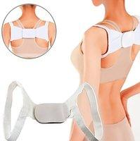 Wholesale Adjustable Therapy Back Support Belt Band Posture Shoulder Corrector K00061 BAR