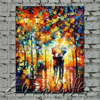 afremov paintings - Leonid Afremov Hand Painted Oil paintings Wall Art Canvas Pictures Cheap Large Modern Abstract Home Decor for Living Room